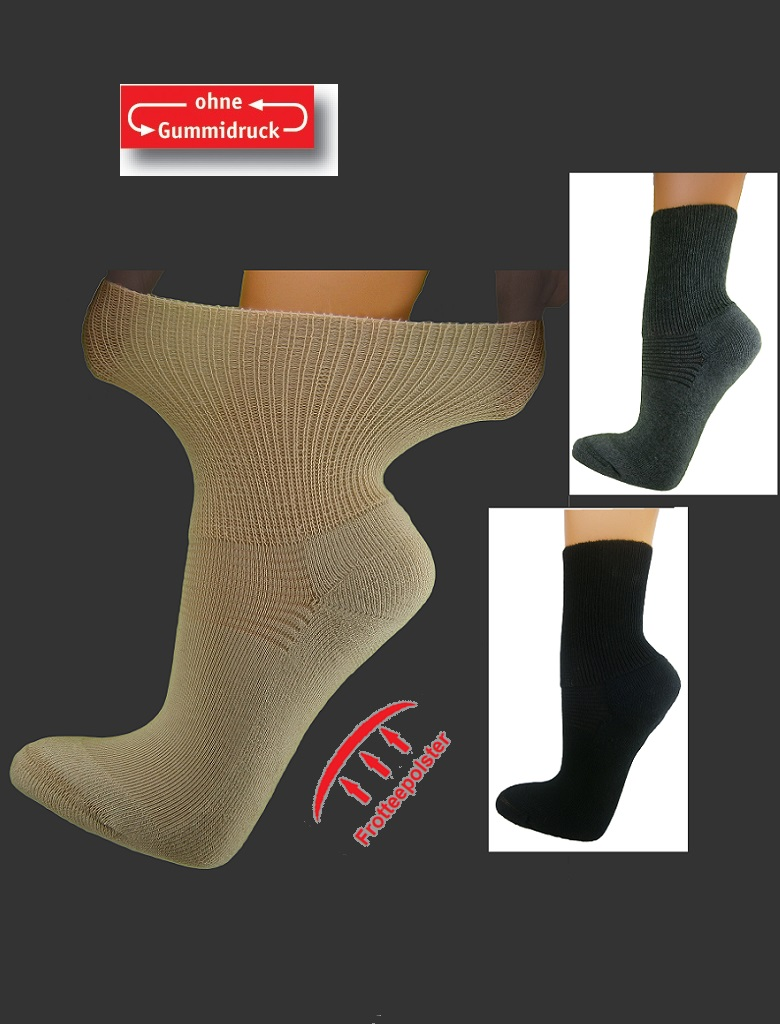 für die ganze Familie Schlussverkauf Super süße Strumpf-Walther Erlangen - Diabetiker-Socken, ohne ...